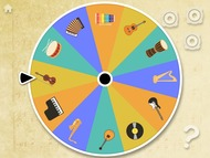 Musical Instruments Spinner